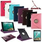 360 Rotating Leather Case Cover Stand For HTC Google Nexus 9 + Screen Protector