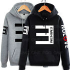 Eminem Hip Hop Sweater Fleece Hoodie Hoody Jacket S-3XL
