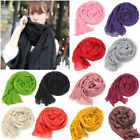 Candy Color Women Girls Long Soft Silk Chiffon Scarf Wrap Shawl Pashmina Scarves