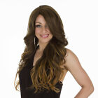 Scherzy Long Thick Glamorous Curly Wig | Natural Look Lace Front | Ombre