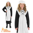 Poor Victorian Girl Costume Child Street Urchin Fancy Dress Peasant Outfit New