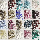 Glass Rhinestone, Back Plated,  Grade A - Various Colours  - 2mm  No Hot-Fix