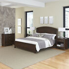 Crescent Hill Bed, Two Night Stands, and Chest