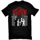 MUNSTERS T-Shirt Family Portrait w/ Red Logo Tee New Authentic S-2XL image