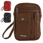 Mens - Ladies Organiser Bag with Phone Pocket and Detachable Strap by Lorenz