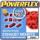 New! Powerflex Performance Uprated Exhaust Mounts Rubbers (red) Hangers