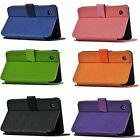 "Luxury Fashion Folio Leather Case Cover Skin For 7"" Lenovo A7-30 A3300 Tablet PC"
