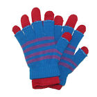 New CTM Womens and Teens 2 in 1 Winter Stretch Gloves
