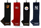 "NFL or MLB Embroidered Golf Towel 16"" x 22"" - *CHOOSE team*"