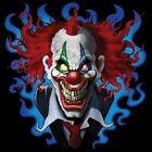 CRAZY CLOWN T-SHIRT (UNISEX  FIT) NOVELTY FUNNY PARTY