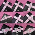 10-500 Acrylic Buckle Ribbon Slider 9 Styles Card Invitation Party Decoration