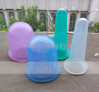 Chinese Silicone Anti Cellulite Cupping Massage Vacuum 2 x Body + 2 x Facial Cup
