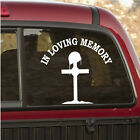 Soldier In Loving Memory Wall Decal - Vinyl Decal - Car Decal - 010