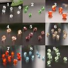 115 X 4mm Crystal Loose Bead Diamante Bicone Rhinestone Gem Diamond DIY Craft