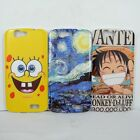 For Huawei Ascend G7 C199 SpongeBob/Painting/Luffy Phone Case & Screen Protector