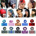 Cycling Bicycle Riding Variety Turban Magic Headband Veil Multi Head Scarf OBS
