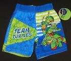 NINJA TURTLES Boys 24 Mo 2T 3T 4T 5T Shorts SWIM TRUNKS Bathing Suit TMNT