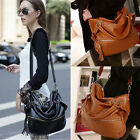 Fashion Lady Handbag Shoulder Bag Tote Purse Leather Women Messenger Gut