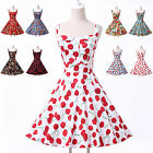 CLEARANCE MARCH Vintage Style Rockabilly 50S 60S Semi Formal EVENING Party Dress