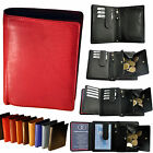 2 Pcs / Wallet with Viennese Case Tresor Secret compartment Chip Cattle leather