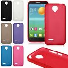 Soft TPU Gel Skin Rubber Case Cover for Alcatel One Touch Idol 2 Mini L 6014x