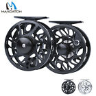 CNC Machine Cut T6 Fly Fishing Reel Left-Right Hand Durable Drag 2 3 4 5 6 7 8wt