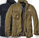 Mens Jacket Winter Military Parka Us Army Brandit Warm Liner Zips Out M65