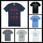 New Hollister by Abercrombie & Fitch A&F Men So Cal Graphic T-Shirt Size S M L X