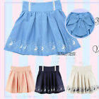 lolita Cute Sailor Moon 20th Anniversary Mini Pleated Skirt Big Back Bow