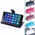 """Luxury Wallet Original Leather Case Stand Cover For 5"""" Lenovo S850 Smartphoe"""