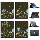 Balancing Animals Folio Cover Leather Case For Apple iPad