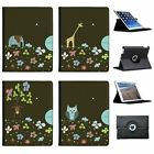 Balancing Animals Folio Cover Leather Case For Apple iPad Tablet