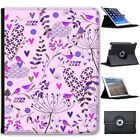 Gardens of Paradise Folio Cover Leather Case For Apple iPad