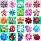 Внешний вид - iron on appliques small flower select style and size