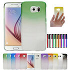 Stylish Ultra Slim 3D Raindrop Crystal Hard Case Cover for Samsung Galaxy S6 R4