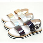 2spd0864 enamel straps 3cm heel summer sandal Made in Korea
