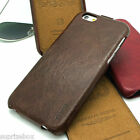 HOCO GENERAL SERIES GENUINE DISTRESSED LEATHER FLIP CASE FOR APPLE IPHONE 6 6S