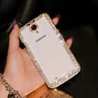 Fashion Bling Crystal Rhinestone Diamond Hard Back Cover Case For Cell Phones