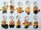 Minions Minions ! Despicable Me Flat Plastic Keyring 10 Designs Keychain Collect