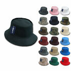 Get 6 LOT DECKY Fisherman's Bucket Hat Hats Caps Constructed Cotton Wholesale