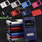 Cover Case Book with Stand Small Windows for SONY XPERIA E4