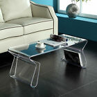 Magazine Coffee Table | Available in Black or Clear