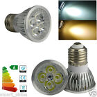 4/10x Built-in Dimmer 6W E27 LED Bulb SMD Spotlight Day Warm White Lamp UK STOCK