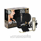 RODE NT1-A Condenser Microphone with Popshield, Shockmount (Open Box)