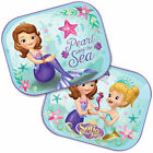 2x Disney Kids Baby Children Boy or Girl Car Window Protector Sun Shades 44x35cm