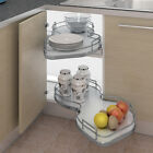 Nuvola Kitchen Corner pull out shelving unit + railing for 1000 kitchen cabinet