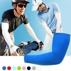 1pair Skin Cooling Athletic Sport Skins Arm Sleeves Sun Protective UV Cover Golf