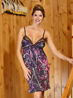 NEW MUDDY GIRL PINK PURPLE CAMO CAMOUFLAGE LINGERIE NIGHTGOWN CHEMISE