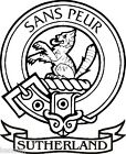 SCOTTISH CLAN CREST RUBBER STAMP OVER 150 CLANS M-Y  ALL SINGLE INK COLOUR