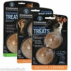 Starmark Everlasting Dog Treat Ball Chicken Bento Ball Treats Small Medium Large